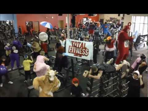 Harlem shake at the Gym! Total Fitness Center, Howell MI