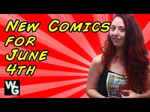 New Comics Pull List for June 4th