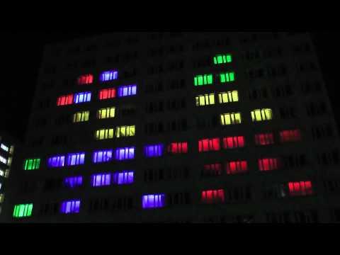Projekt P.I.W.O. Light Show We Wrocławiu 8.05.2012 [Full HD]