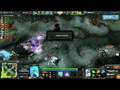 Quantic Gaming vs Imaginary Gaming Game 2   RaidCall EMS One DOTA 2   TobiWan