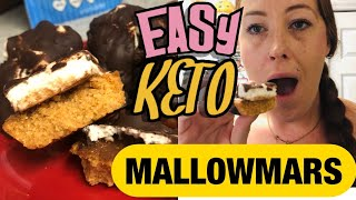 EASY KETO MALLOWMARS | EASY SUGAR FREE DESSERT