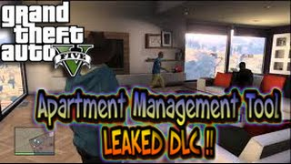 GTA 5 Online Apartment DLC Management Tool & DLC Update LEAKED (GTA 5 Gameplay)