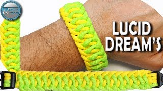 DIY Paracord Bracelet Lucid Dream Modified Intertwined Half Hitch World of Paracord How to make para