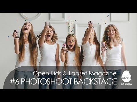 Open Kids - Lapset Magazine #6 Photoshoot Backstage | Music: Katy Perry - Walking On Air