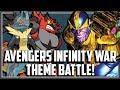 Pokemon Avengers Infinity War Theme Battle!