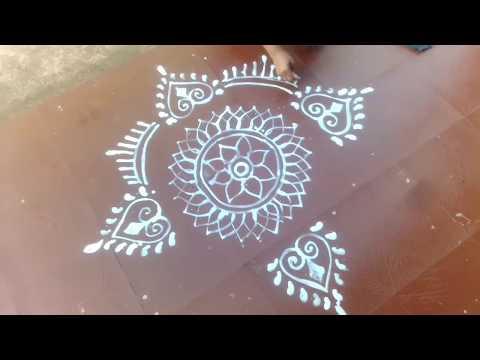 Easy Jhoti Design for Manabasa Gurubar