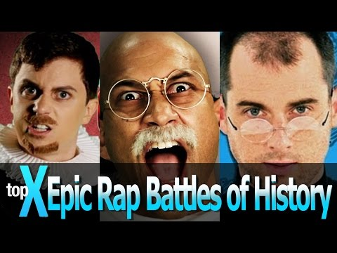 Top 10 Epic Rap Battles Of History -  Topx Ep.18 video
