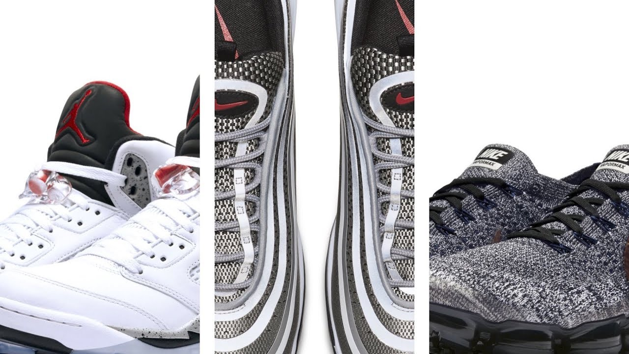 "JORDAN 5 ""Cement"", Vapormax ""Explorer"", Kyrie 3 ""Blackout"" and more on Heat Check"