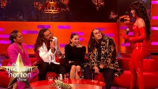 Camila Cabello Fangirls HARD Over Emilia Clarke & Jason Momoa | The Graham Norton Show