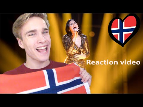 Reaction video Ulrikke Brandstorp - Attention Norway Eurovision 2020