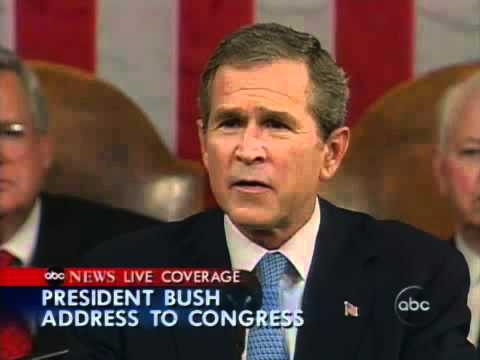 Sept. 20, 2001 - Bush Declares War on Terror