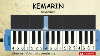 not pianika kemarin - seventeen - tutorial