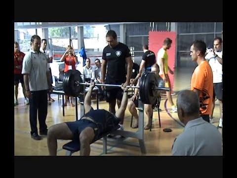 OLIMPIADAS DE POLICIAS Y BOMBEROS DE PRES BANCA.wmv, Multi gym 2000