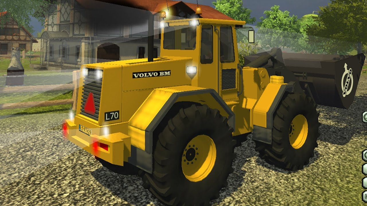 Farming Simulator 2013 How to Lights on & Buying Volvo L70 Mods Test Drive GamePlay TuT - YouTube