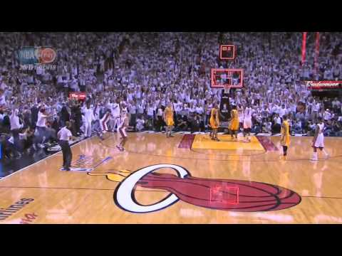 Lebron James GAMEWINNING layup in OVERTIME! 2013 CLUTCH! #Miami #Heat #NBA #LeBron