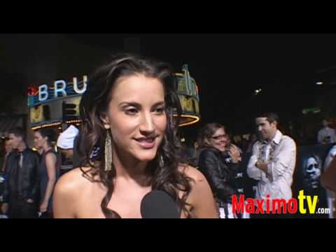 AMERICA OLIVO Interview at THE FINAL DESTINATION Premiere August 28, 2009 Video