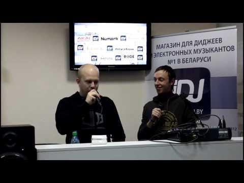 Alexander Popov & Andrew Rayel - Master-klass on Trancefusion 08/12/12/Minsk