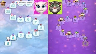 Which Higher Level^Tom From Level 0^Vs Angela From Level 1*GAMEPLAY FOR KID #205