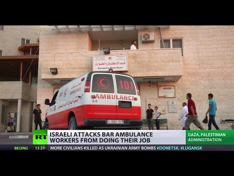Gaza: Medics caught in murderous crossfire (Harry Fear reports) klip izle