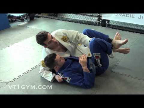 Critical BJJ Technique - Strong Collar Choke from Half Guard on Top Image 1