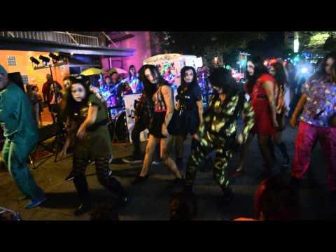 Zombie Dance Squad - Corpus Christi ArtWalk 2014 #2