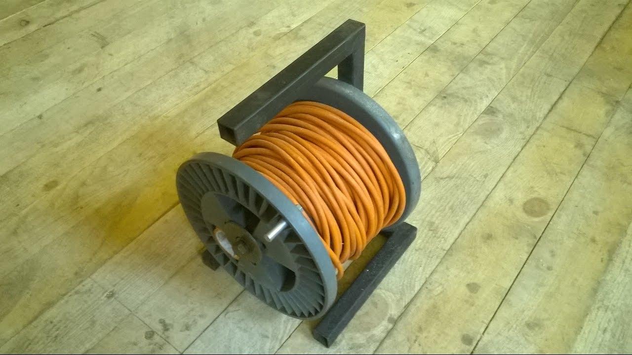 Переноска для кабеля своими руками 7