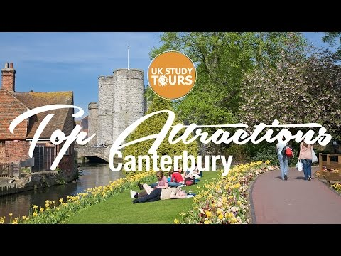 Canterbury Top Attractions - UK Study Tours