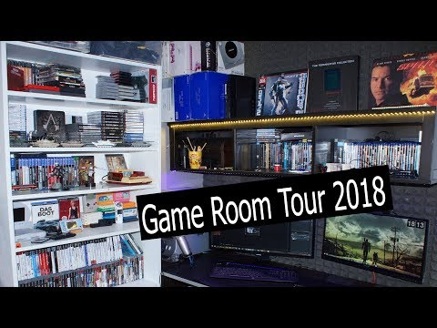 Game Room Tour 2018 Oleg Kerman