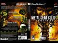 PS2 de Metal Gear Solid 3: [video]