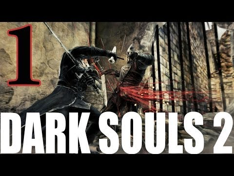 Dark Souls 2 Walkthrough Part 1 Let's Play Swordsman Class Gameplay - You Will Lose Everything