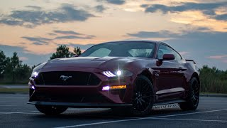 AT NIGHT: 2019 Ford Mustang GT - Interior and Exterior Lighting Overview