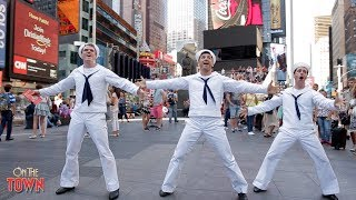 ON THE TOWN performs ON LOCATION in New York, New York!