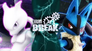 Mewtwo VS Lucario (Pokemon Sprite Battle Animation) | Chrono Break