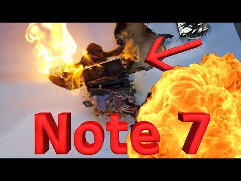 Galaxy Note 7: YouTuber öffnet den Akku des Samsung-Smartphones