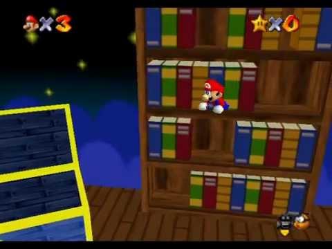 (Hack rom) Mario64 �Super Mario STAR ROAD� Tool-Assisted FreeRun