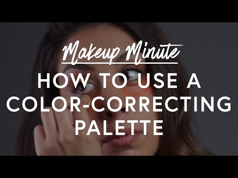 How To Use A Color Correcting Palette - Makeup Minute | The Zoe Report by Rachel Zoe