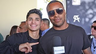 Ryan Garcia AFTER FEUD w/ Oscar De La Hoya!