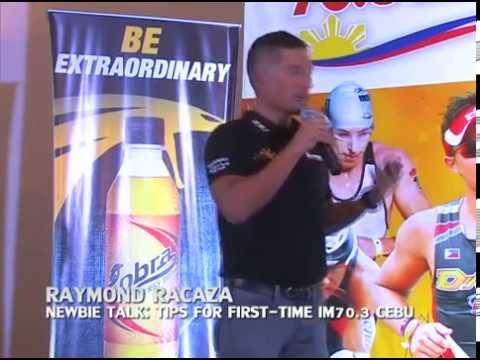 Raymond Racaza - Cobra Energy Drink Ironman 70.3 EXPO