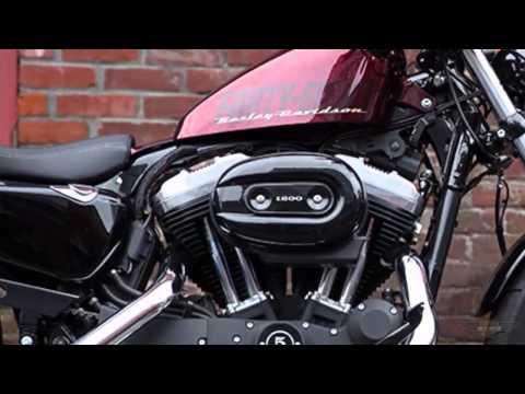 Hot 2015 Harley Sportster 48 XL1200X Lindon Utah (801) 434-4647 Hard Candy Red Flake