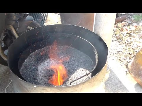 Sawdust Stove For the Shop - not