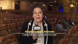 Palmarès du Droit 2021   Huglo Lepage Avocats   Cabinet de niche de l'année