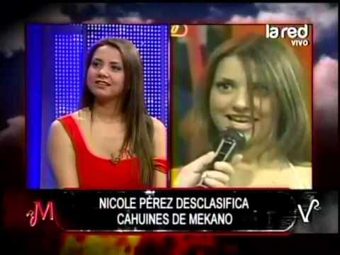 Nicole Pérez cuenta este cagüin de la época de Mekano nunca antes revelado