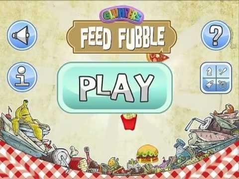 Feed Fubble, nuevo juego APP para niños de los Glumpers