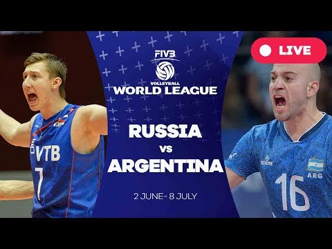 Russia v Argentina - Group 1: 2017 FIVB Volleyball World League