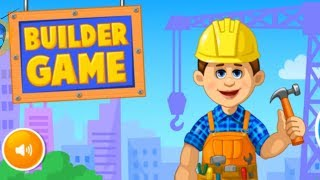 Builder Game for Kids - Gameplay Casual Pretend Play for Android by Bubadu
