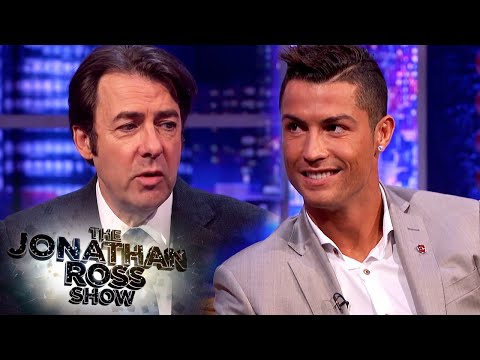 Cristiano Ronaldo Thinks Lionel Messi Will Win The Ballon d'Or - The Jonathan Ross Show