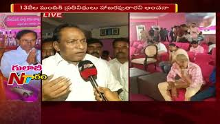 MP Malla Reddy Speaks to Media About  TRS Plenary Meeting