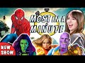 Who Can Name The Most Marvel Movies In A Minute? | Most In A Minute (REACT)