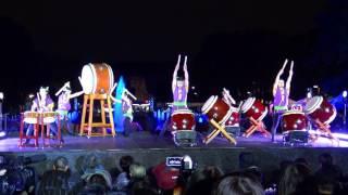 あかりパーク2016 和太鼓大元組 Wadaiko Daigen Gumi In Akari Park