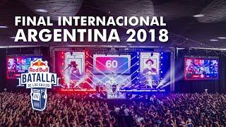 Final Internacional 2018 | Red Bull Batalla de los Gallos